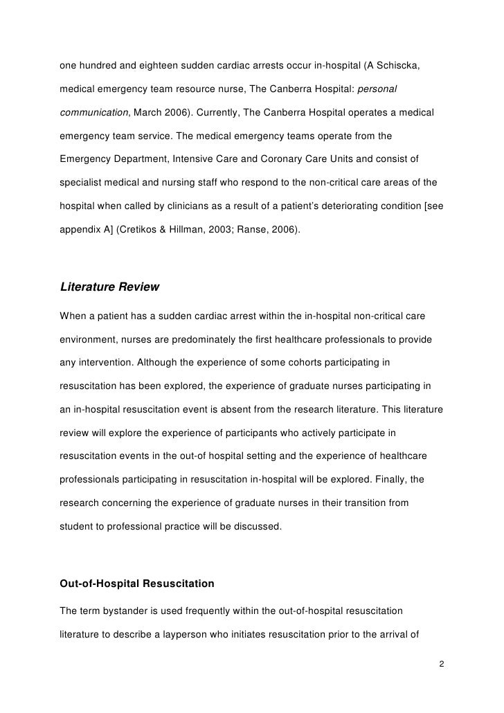 research environment thesis