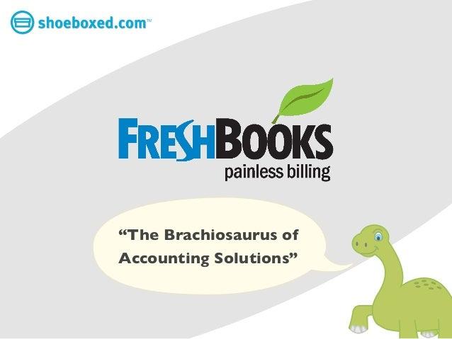 "TM""The Brachiosaurus ofAccounting Solutions"""