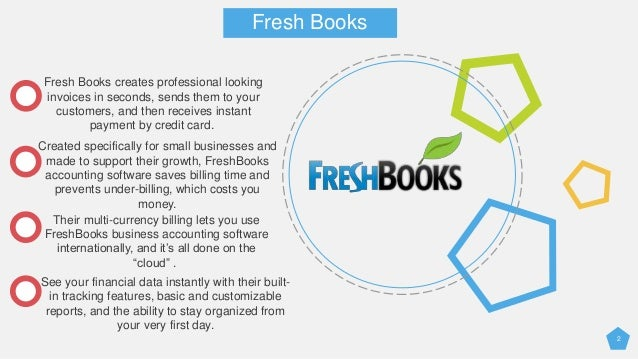 Freshbooks Accounting Software  Box Pack