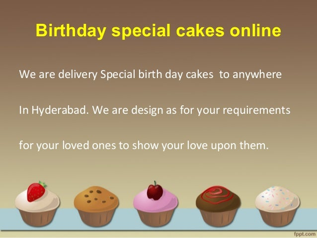 Birthday Special Cakes Online We Are Delivery