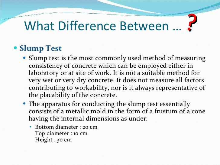 slump test of concrete pdf