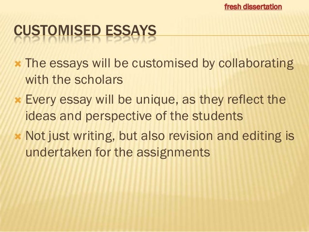Dissertation writing service india