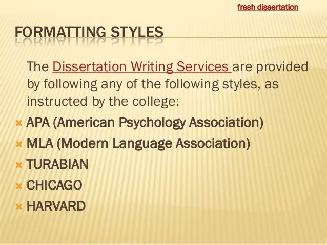 Dissertation writers india
