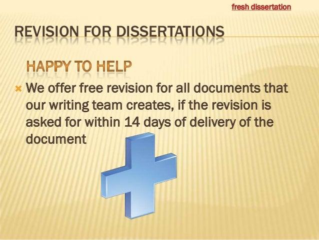 Dissertation writing service india