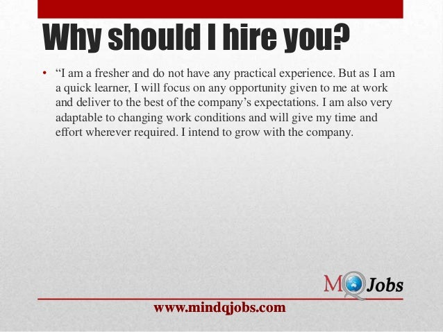 Captivating Why Should I Hire You?  Why Should I Hire You