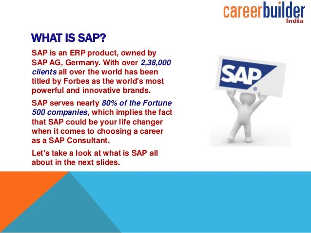 freshers guide to sap jobs career builder india
