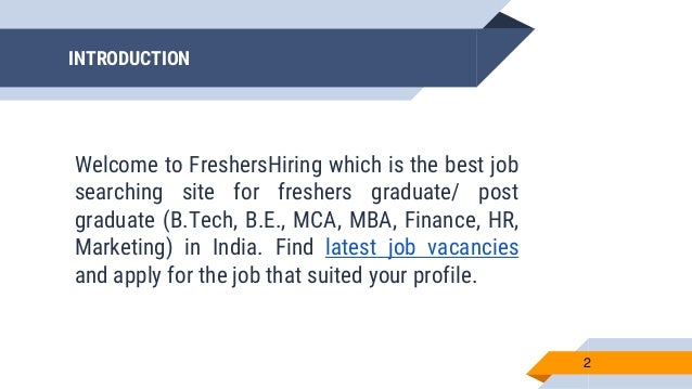 Freshers Jobs in Noida