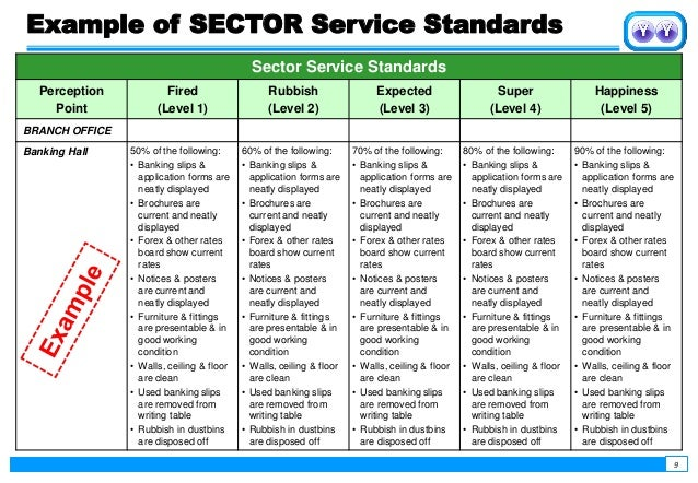 superior customer service examples