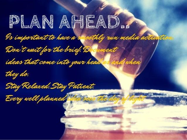 5 Tips for retaining Freshness in Media Planning Slide 2