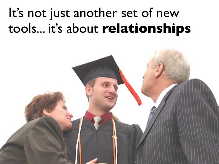 It's not just another set of new tools... it's about relationships                                   by Fresh Consulting