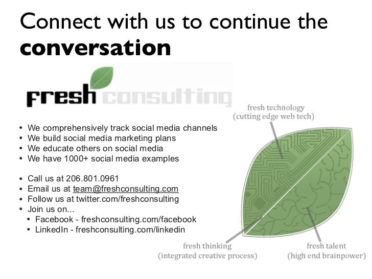 Connect with us to continue the conversation   •   We comprehensively track social media channels •   We build social medi...