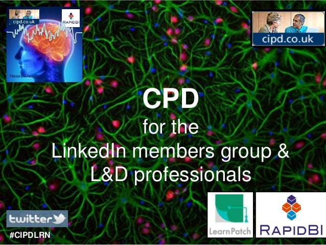 Neuroscience                        CPD                         for the               LinkedIn members group &            ...