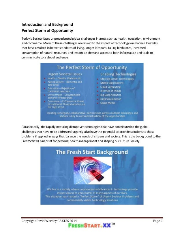 Freshstartxx blueprint for a revolution in personal health manageme 2 malvernweather Images