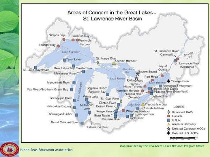 Great Lakes Global Freshwater - Lake erie salt mines