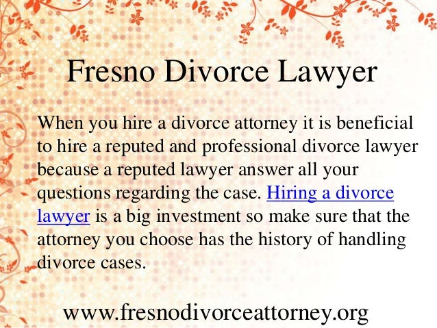Fresno Family Law Lawyer | Divorce Attorney in Fresno, CA