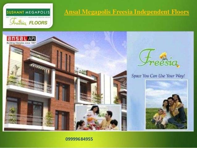 Ansal Megapolis Freesia Independent Floors  09999684955