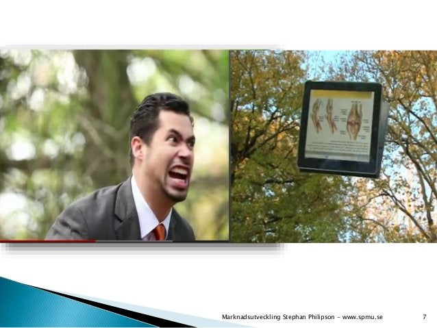 Marknadsutveckling Stephan Philipson - www.spmu.se 7