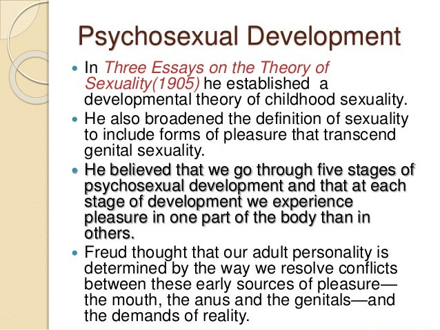 three essays on the theory of sexuality quotes
