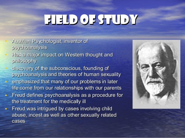 Freud and human sexuality