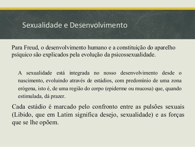 Freud e o desenvolvimento Slide 2