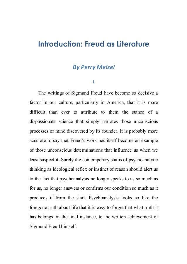 the intricate mind of sigmund freud essay
