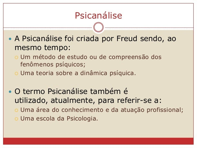 Freud - O desenvolvimento sexual infantil Slide 3