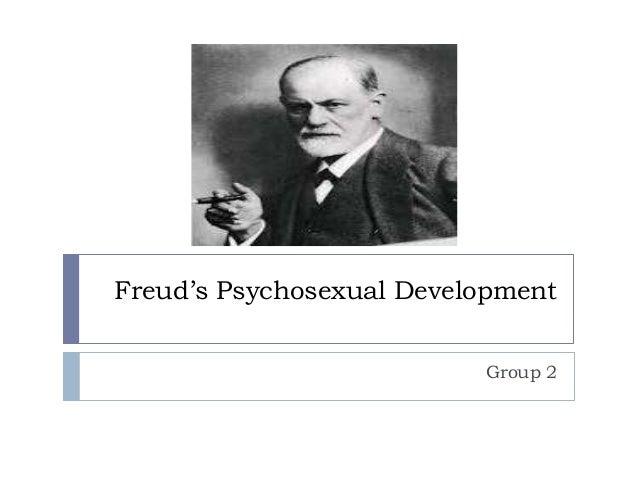 Freud's Psychosexual Development Group 2