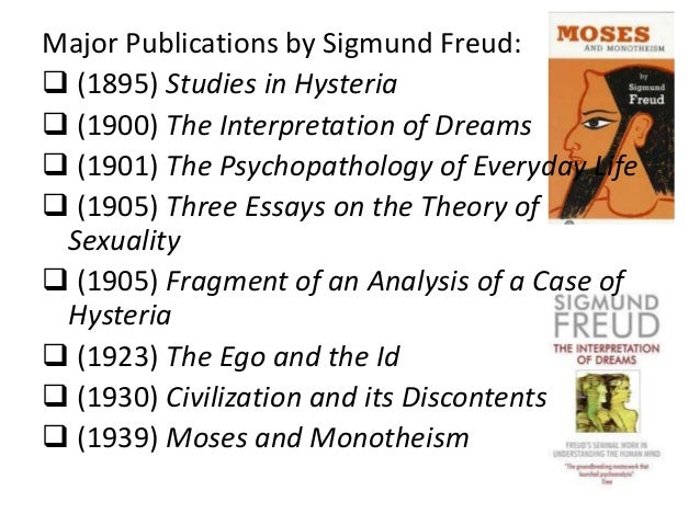The contributions of sigmund freud essay