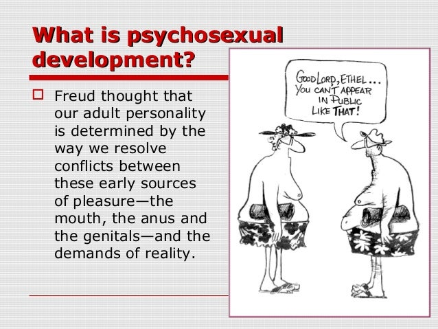 Psychosexual theory examples