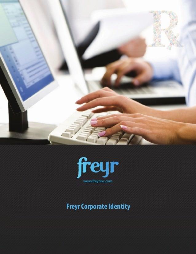 Freyr Corporate Identitywww.freyrinc.com