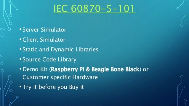 IEC 60870-5-101 Server and Client Simulator - Source Code