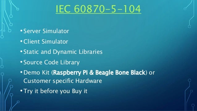 IEC 60870-5-104 Server and Client Simulator - Source Code Library