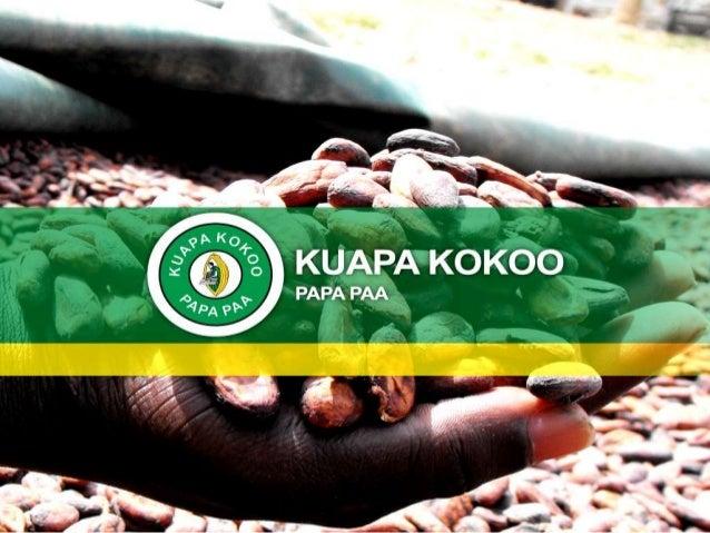 KUAPA KOKOO NOTRE CONTRIBUTION À LA PRODUCTION DE CACAO DURABLE. Briefing de Bruxelles sur le développement n°44 22 juin 2...