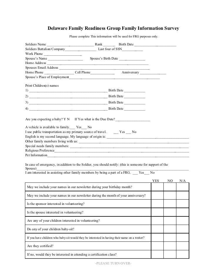 frg survey