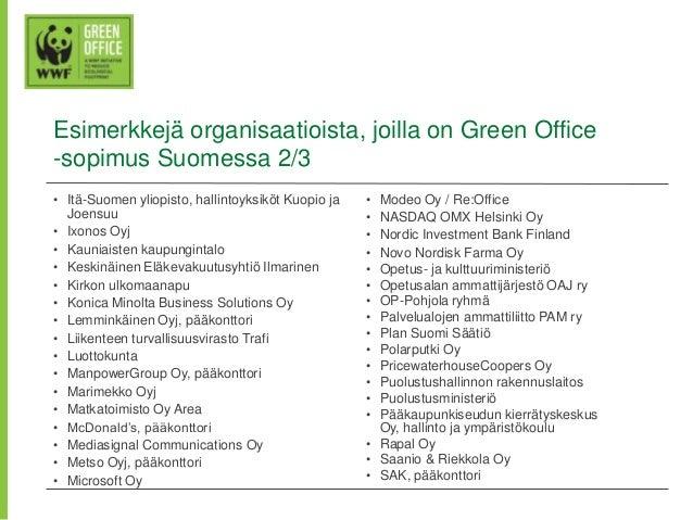 [Nordic GBC Conference 2013] Helka Julkunen: Green Office