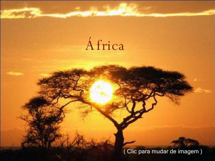 África  ( Clic para mudar de imagem )
