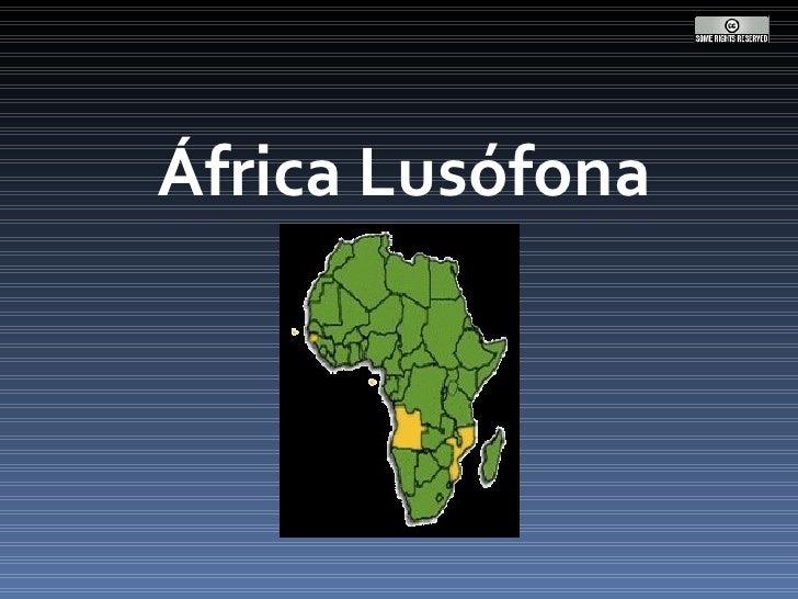 África Lusófona