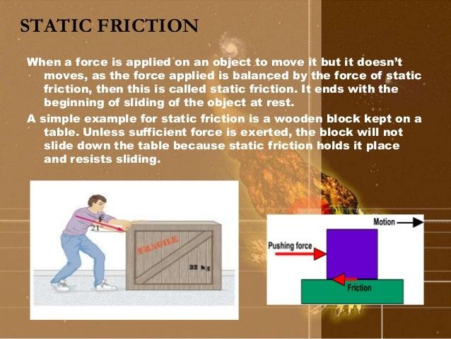 Friction (6)