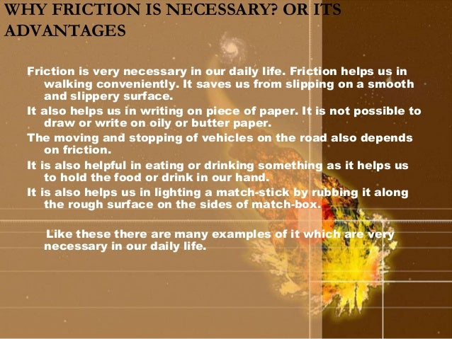 Examples Of Velocity In Everyday Life Friction (6)