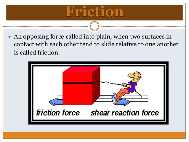 friction necessary evil