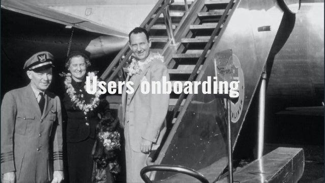 Users onboarding