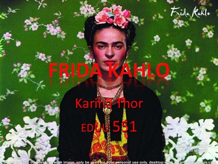 Karina Thor EDUU  551