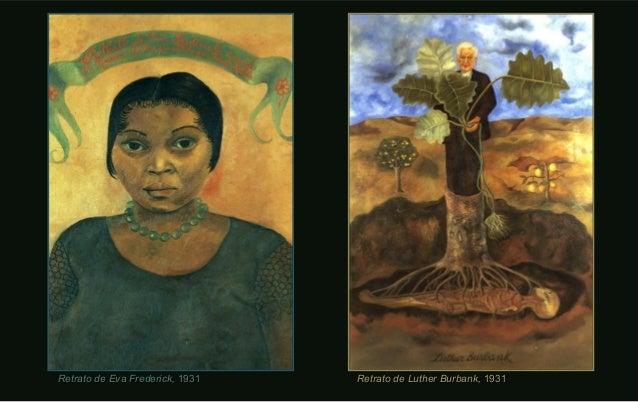 Retrato de Luther Burbank,Retrato de Luther Burbank, 19311931Retrato de Eva Frederick,Retrato de Eva Frederick, 19311931