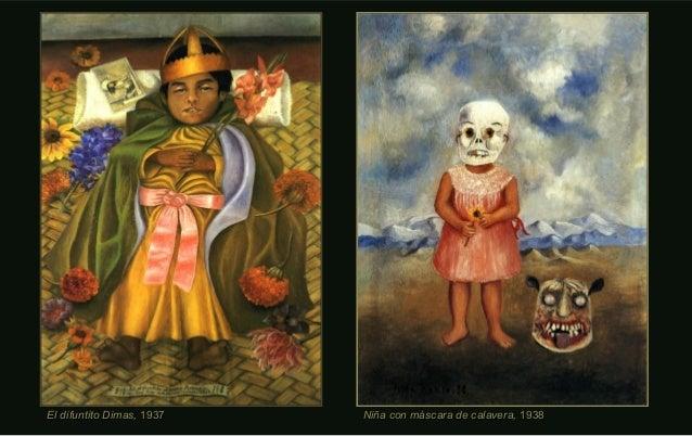Niña con máscara de calavera,Niña con máscara de calavera, 19381938El difuntito Dimas,El difuntito Dimas, 19371937