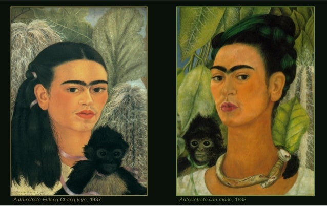Autorretrato con mono,Autorretrato con mono, 19381938Autorretrato Fulang Chang y yo,Autorretrato Fulang Chang y yo, 193719...