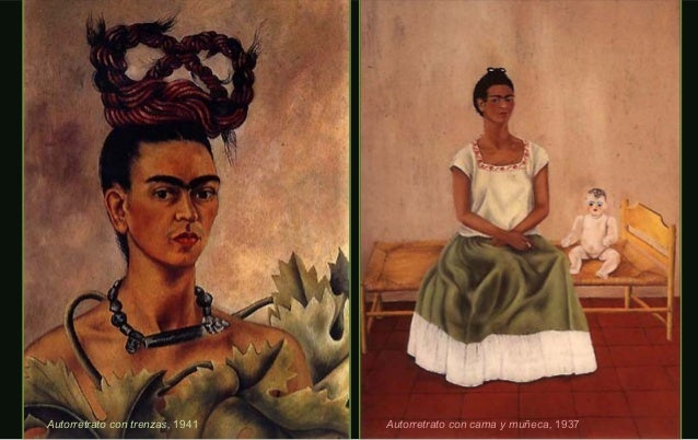 Autorretrato con medallón, 1948Autorretrato con tehuanaAutorretrato con tehuana oo Diego en miDiego en mi pensamiento,pens...