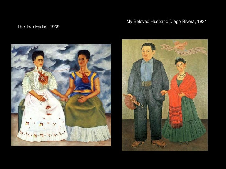 My Beloved Husband Diego Rivera, 1931The Two Fridas, 1939<br />