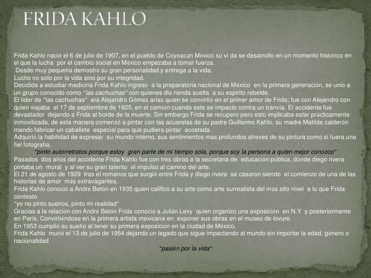 Pinturas de Frida Kahlo Slide 2