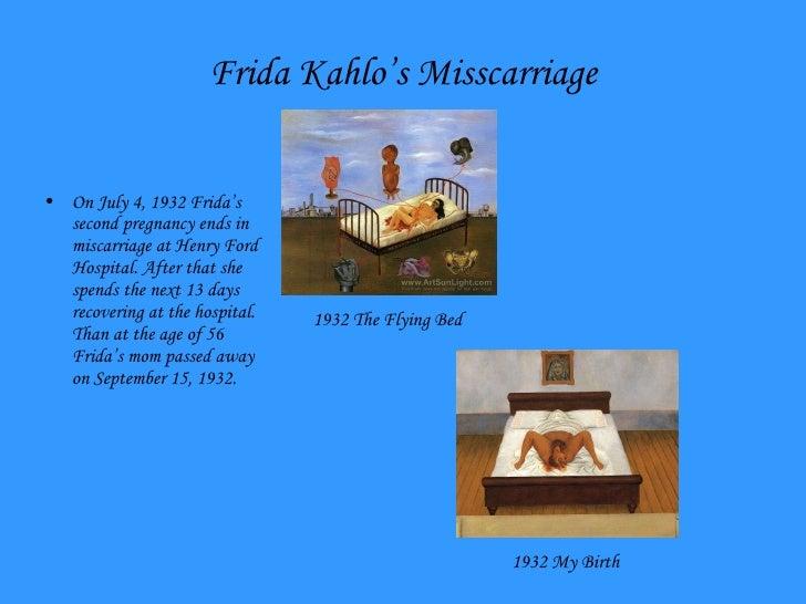 Henry Ford Hospital The Flying Bed Frida Kahlo Presentation