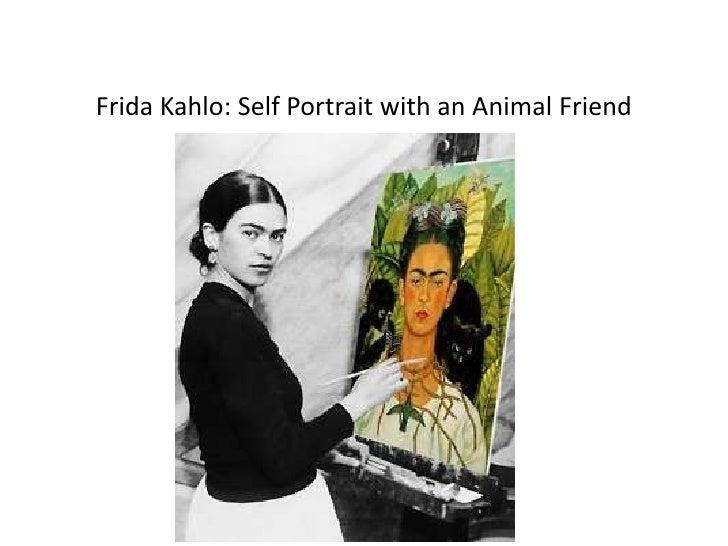 Frida Kahlo: Self Portrait with an Animal Friend